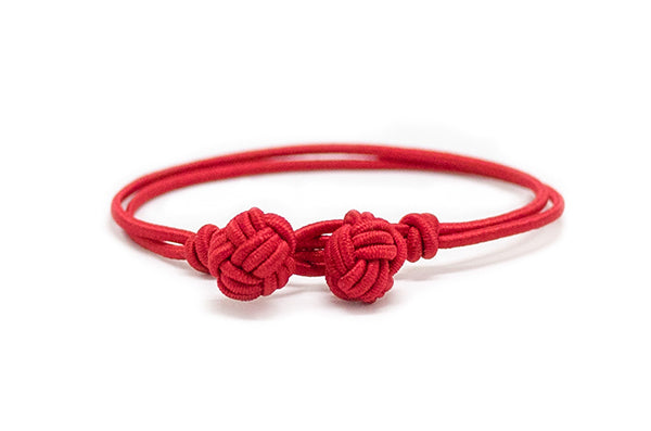 Fender - Red Monkey Fist Bracelet