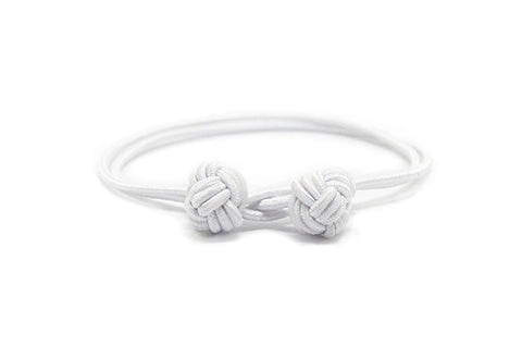 Fender - White Monkey Fist Bracelet