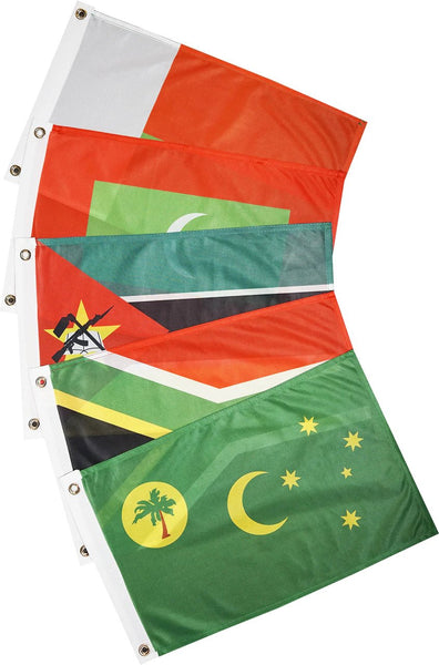 Courtesy Flags - Indian Ocean - South (13 Countries)