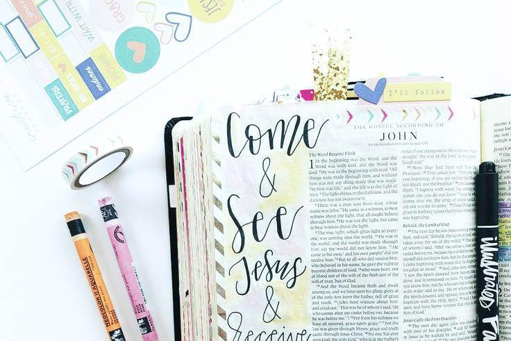 How to Start Bible Journaling | Elevated Faith Blog
