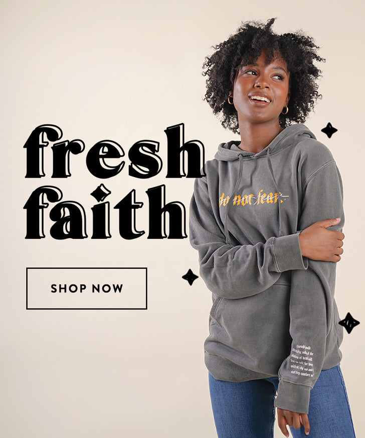 Christian t shirts & jewelry | Elevated Faith