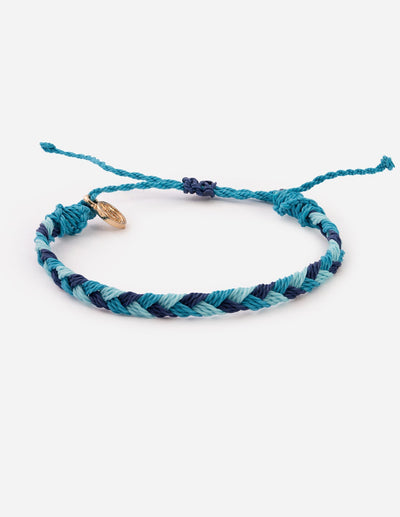 Deep Blue Sea Christian String Bracelet