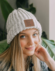 Elevate Your Faith Cuffed Beanie Christian Hat