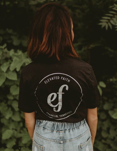 Elevated Faith Unisex Logo Tee Christian T-Shirt