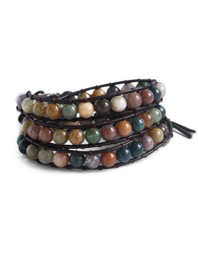 Gem Foundation Christian Wrap Bracelet