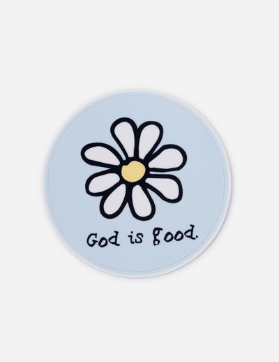 God is Good Sticker Christian Sticker