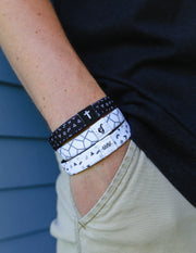 Highs and Lows Reversible Wristband Christian Wristband