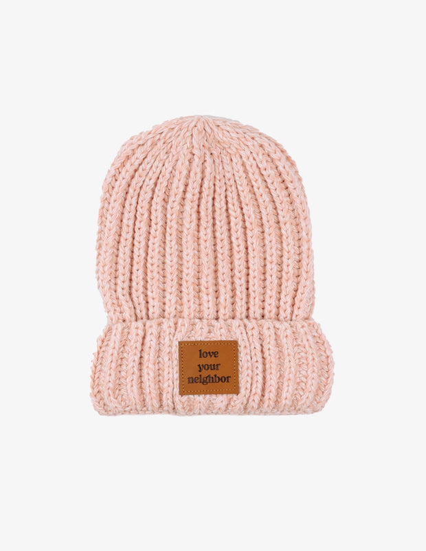 Love Your Neighbor Cuffed Beanie Christian Hat