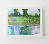 Barton Springs Pool 2- Art Print