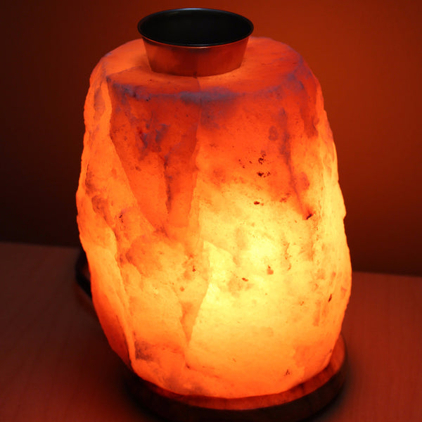 Himalayan Salt Lamp - Essential Oil Diffuser Earth s Emporia