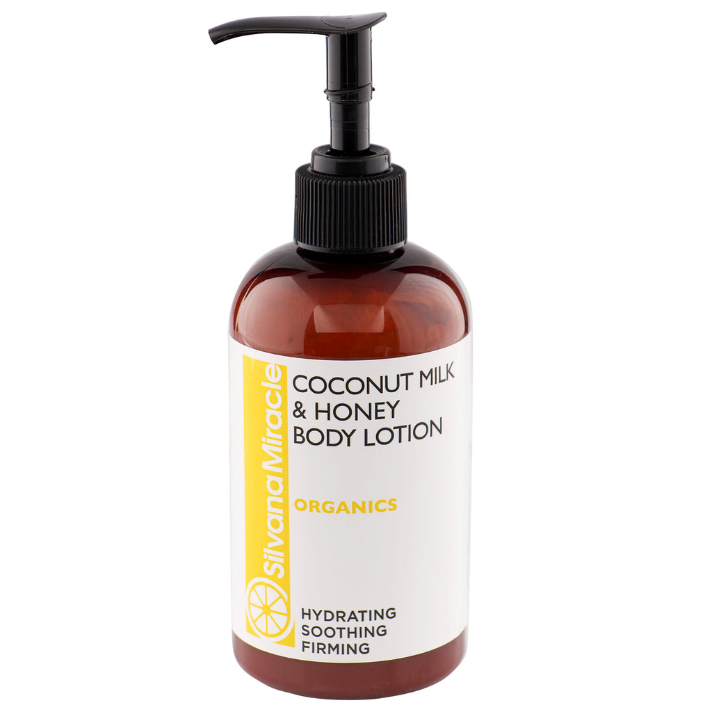 Coconut Milk and Honey Body Lotion / Hydrating / Soothing / Calming