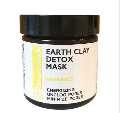 organic skin care, clay mask