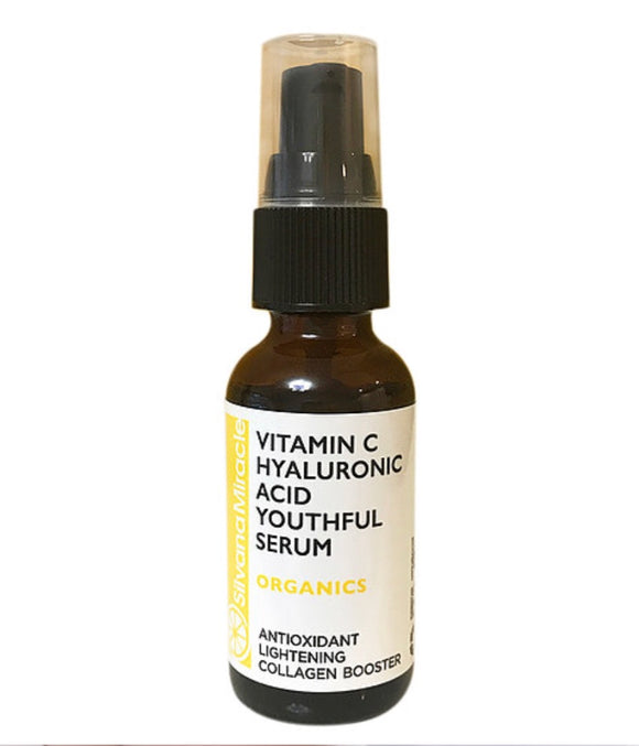 Vitamin C Serum / Lighteneing / Collagen Booster / Anti-oxidant - Silvana Miracle Handmade Natural Skin Care