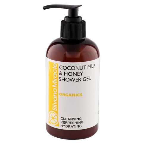 Coconut Milk Shower GEL / Repairing / Cleansing / Calming