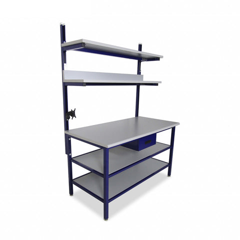 Benchmarx with Upper & Lower Shelves