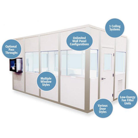 Portable Hardwall Cleanroom