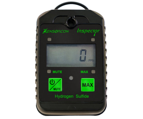 Personal H2S Meter - The Inspector Portable Hydrogen Sulfide Detector (H2S Inspector)