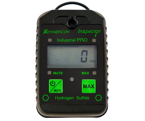 Programmable H2S Monitor - Industrial Pro (H2S PRO) - Sensorcon - Sensing Products by Molex - 1