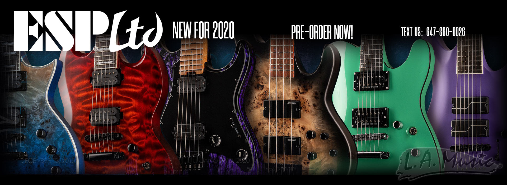 ESP LTD NEW FOR 2020