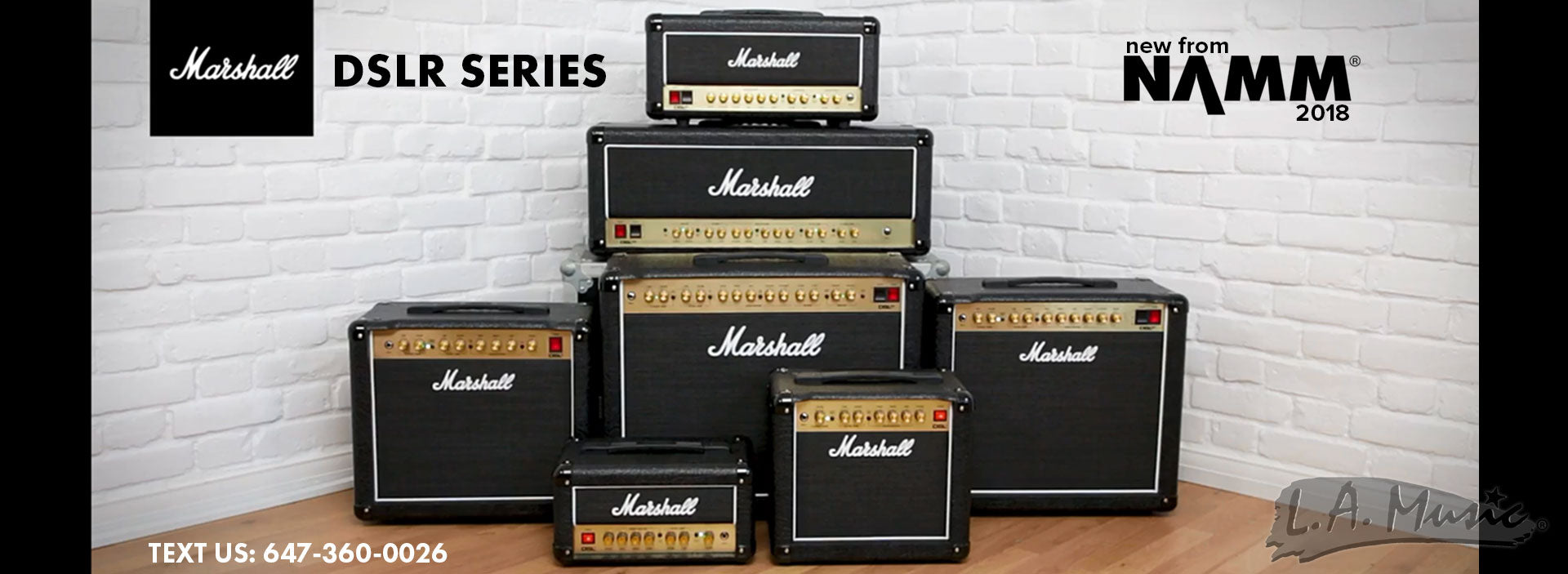 New Marshall DSLR Amps