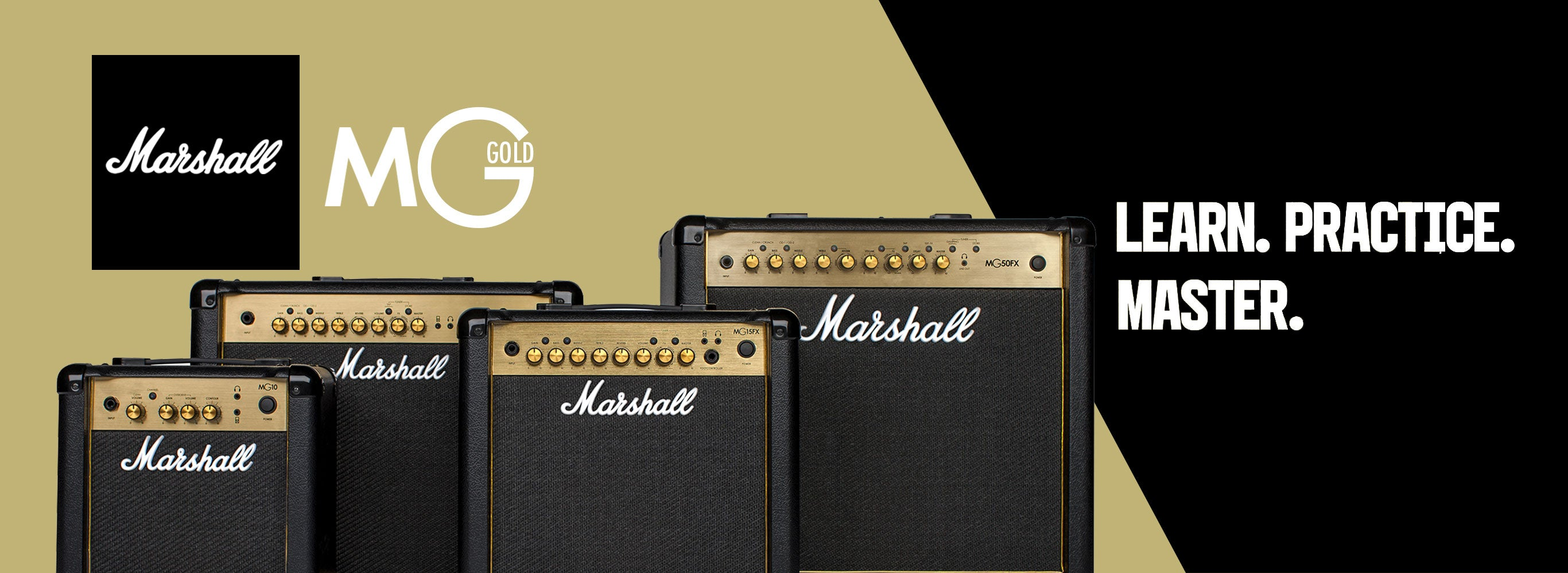 Marshall MG Gold Series Amplifiers New for 2018