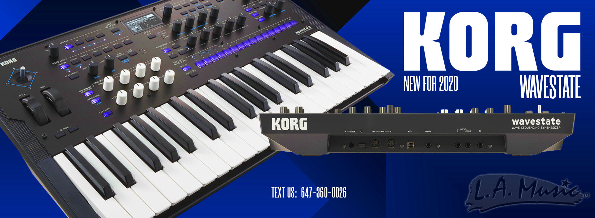 KORG WAVESTATE NEW FOR 2020