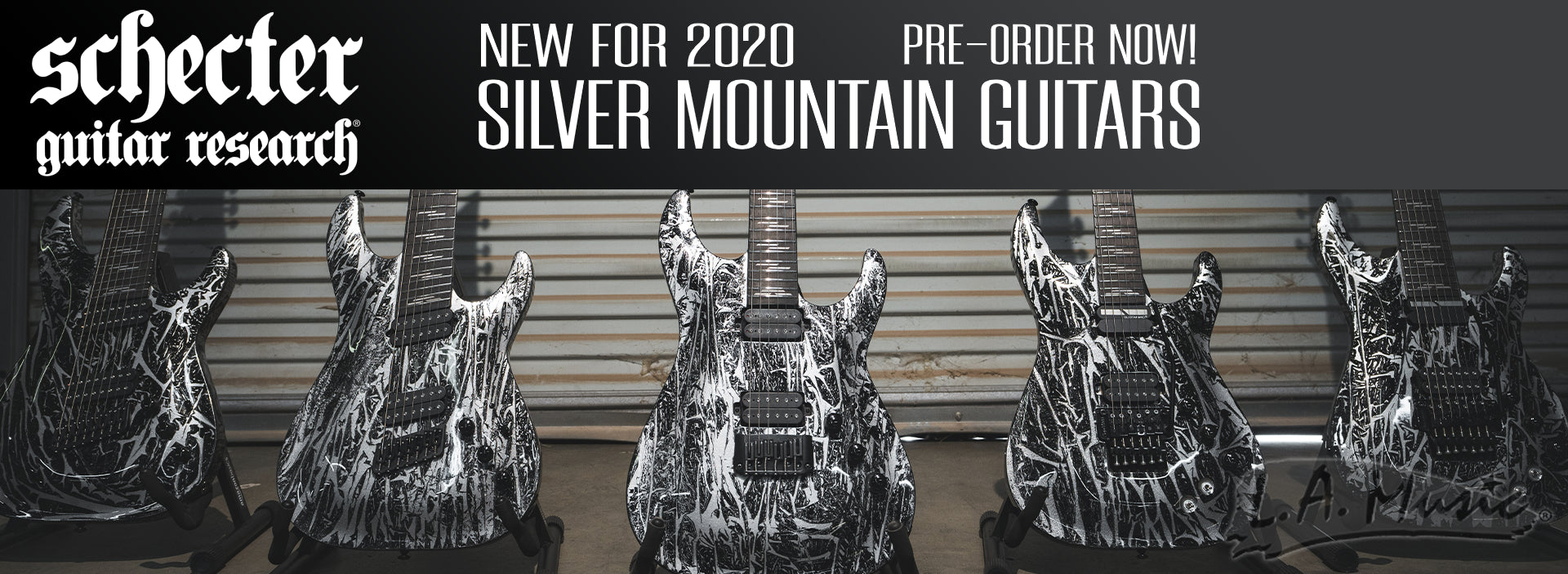 Schecter Silver Mountain Guitars New for 2020