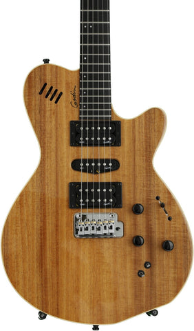 Godin XTSA Solid-Body Electric Guitar KOA WOOD TOP 036523 - L.A. Music - Canada's Favourite Music Store!