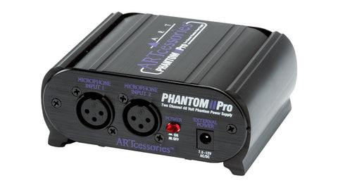 ART Phantom II Pro 2-Channel Phantom Power Supply