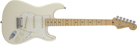 Fender American Standard Stratocaster, Maple Fingerboard, Olympic White 0113002705 - L.A. Music - Canada's Favourite Music Store!