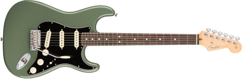 American Professional Stratocaster Rosewood Neck Antique Olive 0113010776 - L.A. Music - Canada's Favourite Music Store!