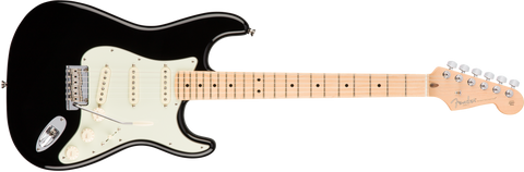 American Professional Stratocaster Maple Neck Black 0113012706