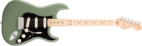 American Professional Stratocaster Maple Neck Antique Olive 0113012776