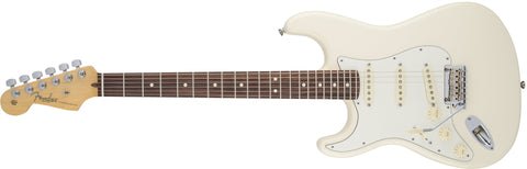 Fender American Standard Stratocaster® Left-Handed, Rosewood Fingerboard, Olympic White 0113020705