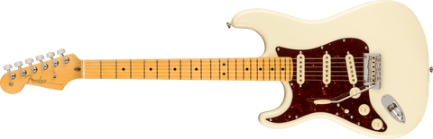Fender American Professional II Stratocaster Left Hand Maple Fingerboard Olympic White F-0113932705