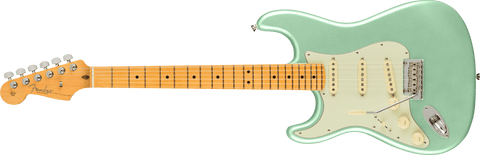 Fender American Professional II Stratocaster Left Hand Maple Fingerboard Mystic Surf Green F-0113932718
