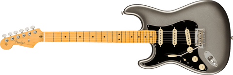 Fender American Professional II Stratocaster Left Hand Maple Fingerboard Mercury F-0113932755