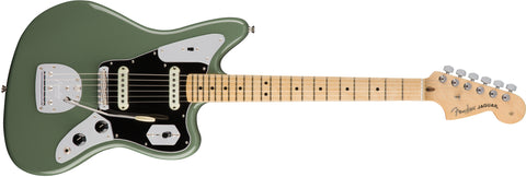 Fender American Professonal Jaguar Maple Neck Antique Olive 0114012776 - L.A. Music - Canada's Favourite Music Store!