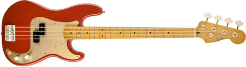 Fender '50s Precision Bass®, Maple Fingerboard, Fiesta Red 0131702340 - L.A. Music - Canada's Favourite Music Store!