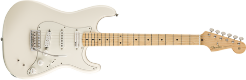 Fender EOB Stratocaster, Maple Fingerboard, Olympic White Ed O'Brien Signature 0140192305