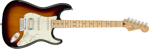 Fender Player Stratocaster HSS, Maple Fingerboard, 3-Color Sunburst 0144522500