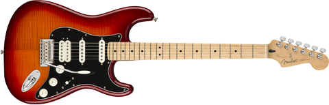 Fender Player Stratocaster HSS Plus Top, Maple Fingerboard, Aged Cherry Burst 0144562531