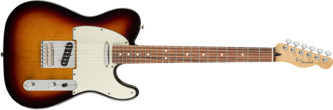 Fender Player Telecaster, Pau Ferro Fingerboard, 3-Color Sunburst 0145213500