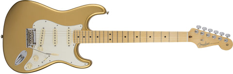 Fender Limited Edition American Standard Stratocaster®, Maple Fingerboard, Mystic Aztec Gold 0170218750