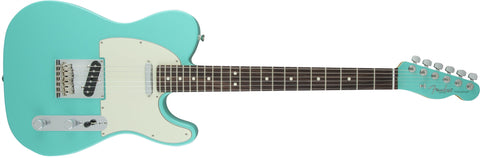 Fender Limited Edition American Standard Telecaster, Rosewood Fingerboard, Painted Headcap, Seafoam Green 0170801749