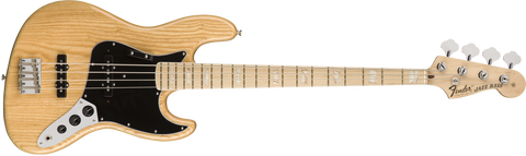 FENDER American Original '70s Jazz Bass® Maple Fingerboard Natural