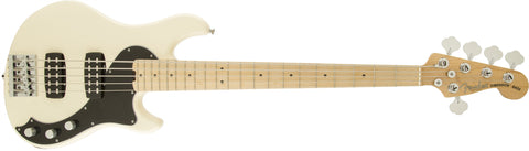 Fender American Standard Dimension Bass V HH, Maple Fingerboard, Olympic White 0191702705 - L.A. Music - Canada's Favourite Music Store!