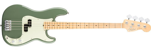 American Professonal Precision Bass Maple Neck Antique Olive 0193612776 - L.A. Music - Canada's Favourite Music Store!