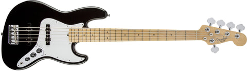 Fender American Standard Jazz Bass® V (Five String), Maple Fingerboard, Black 0193752706 - L.A. Music - Canada's Favourite Music Store!
