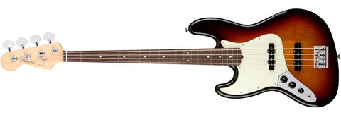 Fender American Professional Jazz Bass Left Handed Rosewood Neck 3 Tone Sunburst 0193920700